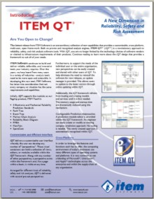 ITEM QT Spec Sheet